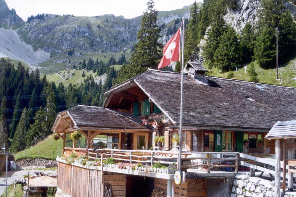 Le chalet Rizli Alp et ses environs