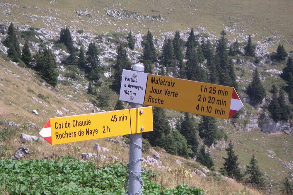 En route pour le Col de Chaude