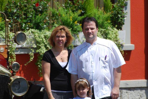 Jean-Luc Vermorel, patron du restaurant La Gare