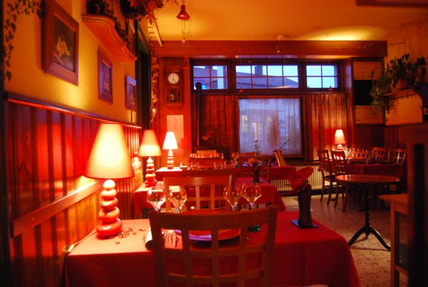 Café du restaurant La Gare
