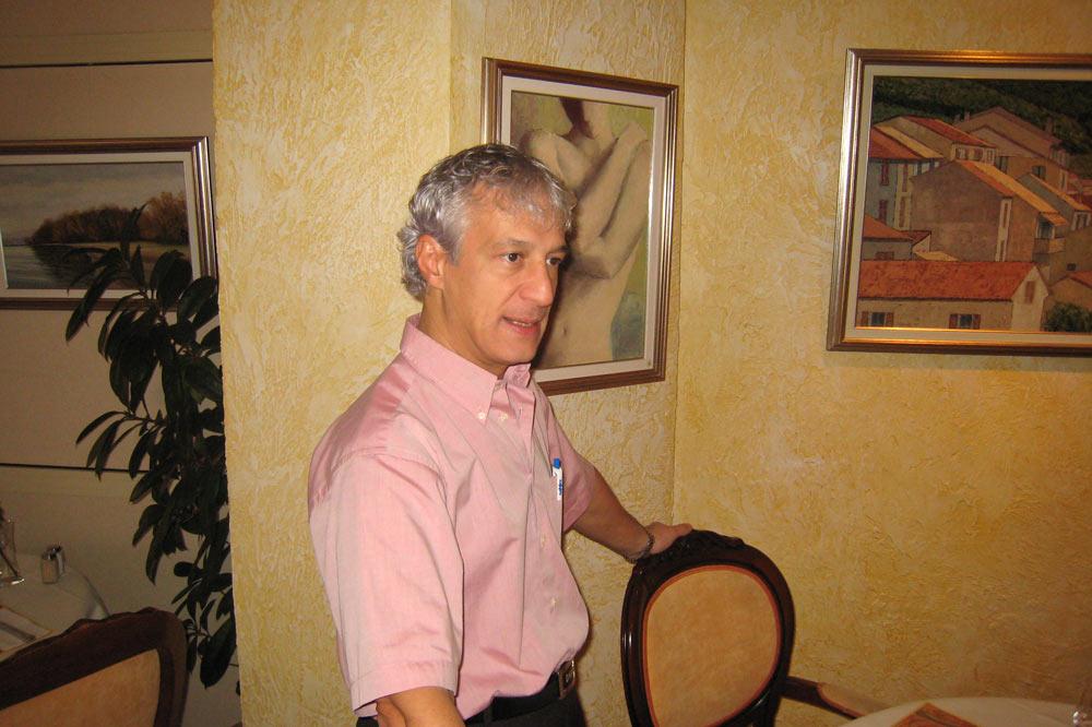 Jeancarlo Furneri, patron de l'hôtel restaurant Le Nord