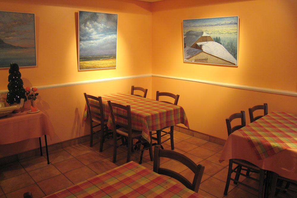 Le café de l'hôtel restaurant Le Nord