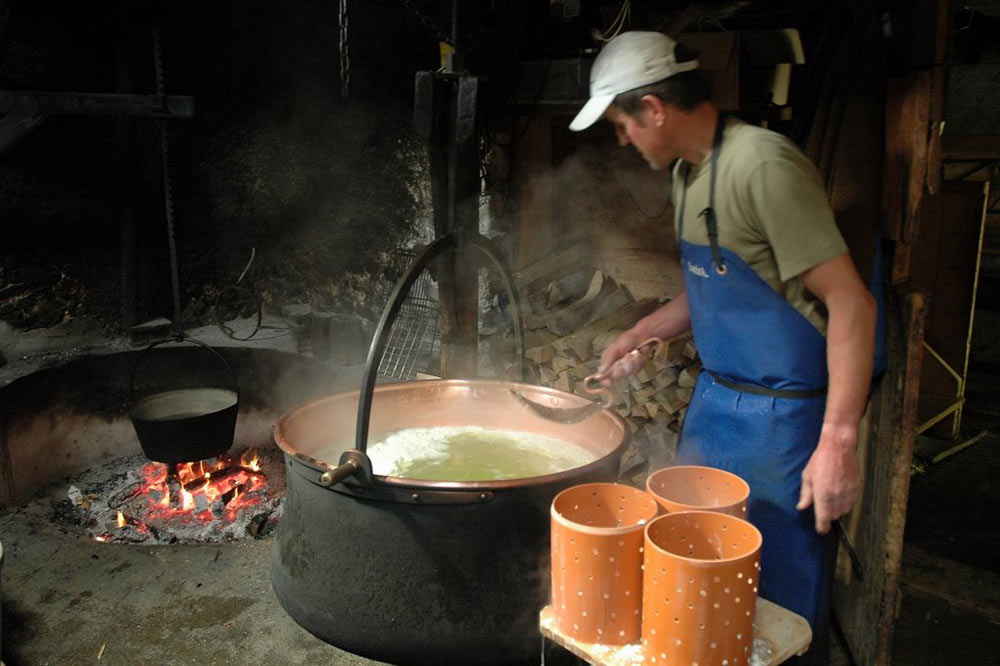 Fabrication de fromage
