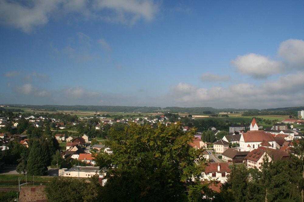 Panorama sur Boncourt
