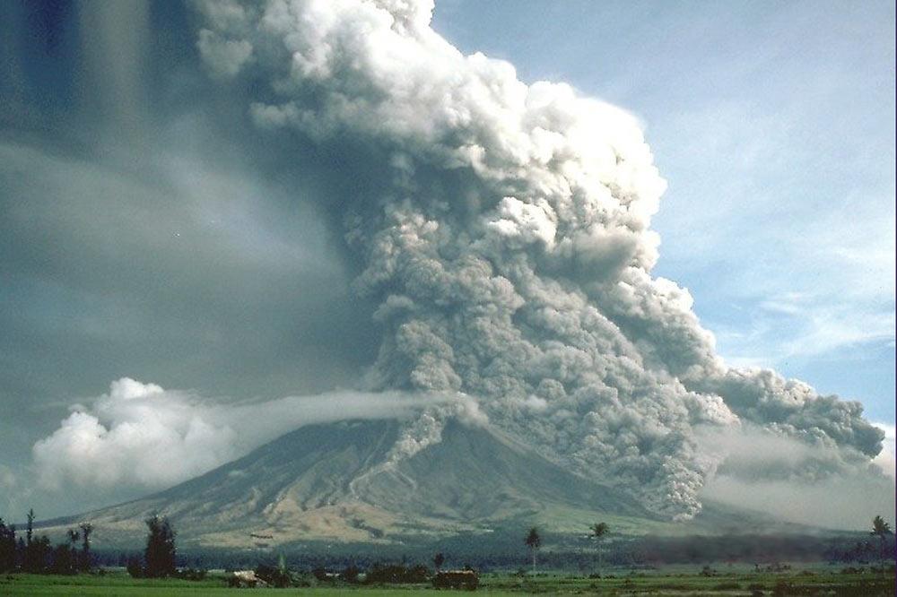 Erutpion volcanique