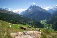 Sentier des Pierres à cupules, Evolène, Val d'Hérens