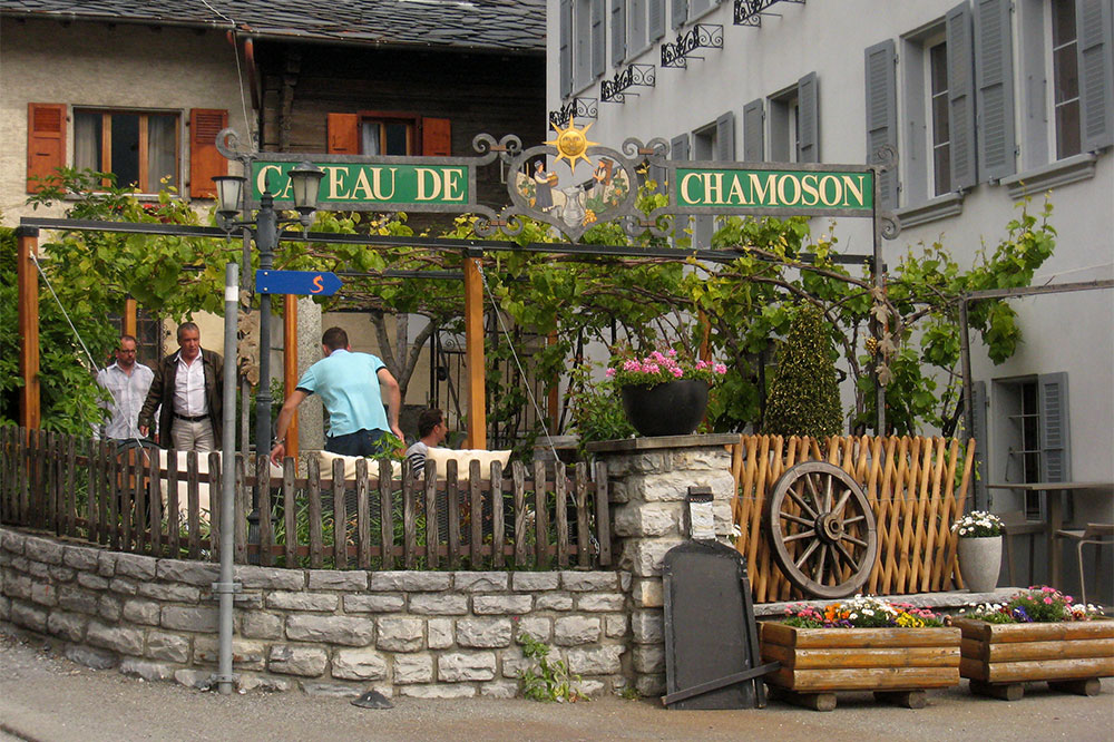 Caveau des vignerons de Chamoson