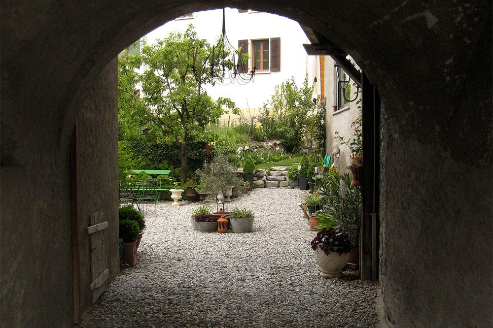 Patio à Saint-Pierre-de-Clages