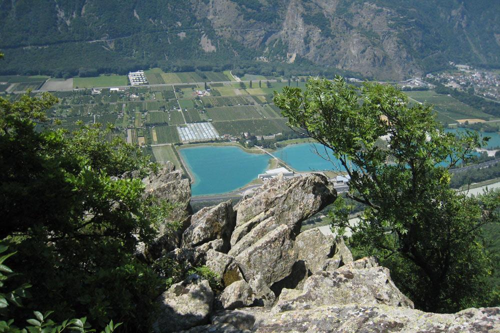 Coup d'oeil sur le Rhône