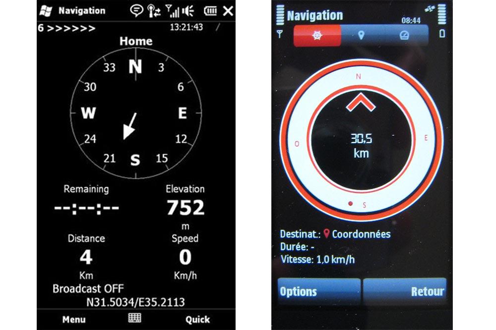Relierescue et Nokia navigation