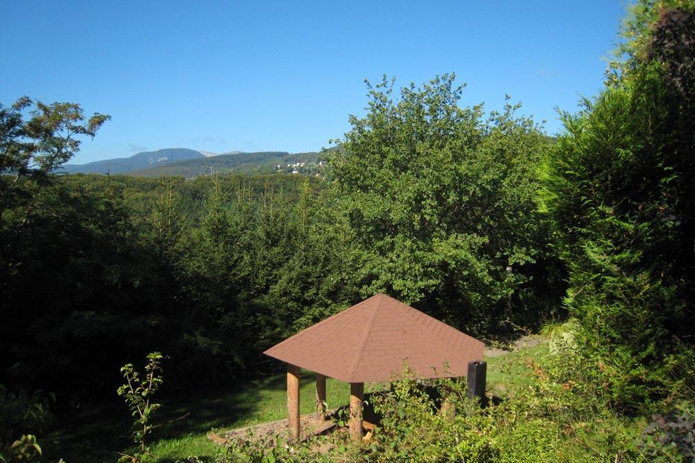 Vue sur le Jura depuis l'Espace Gasser