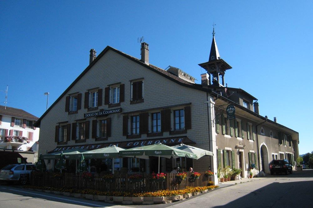 L'Hôtel de la couronne accueille les voyageurs depuis 1703