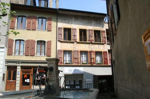 Maison où naquit Pierre Viret