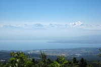 Panorama sur le Mont-Blanc